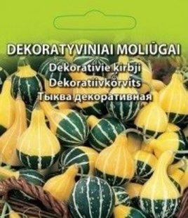 Dekoratīvie ķirbji  ( Pear Biocolor)