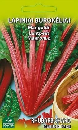 Lapu bietes  (Mangolds) Rhubarb Chard