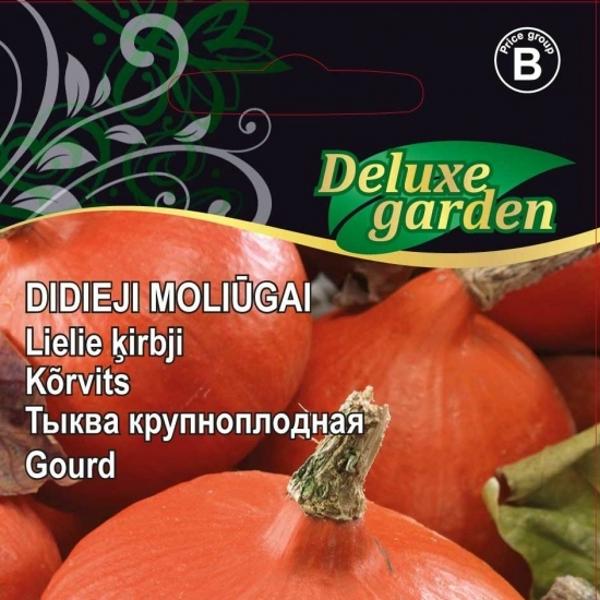 DELUXE GARDEN  Ķirbji- Lielaugļu (Uchiki kuri H)