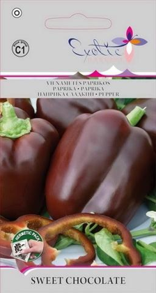 Paprika SWEET CHOCOLATE  Vidēji agrīna
